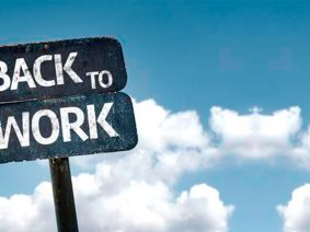 5 tips to get back to work after Vacation