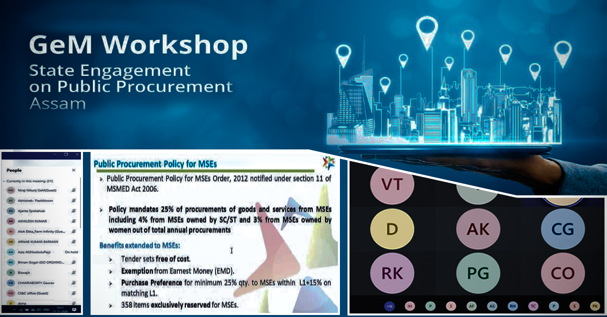"Workshop on ""State Engagement on Public Procurement Procedures"" conducted for startups"